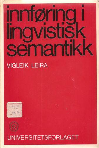 Innføring i lingvistisk semantikk
