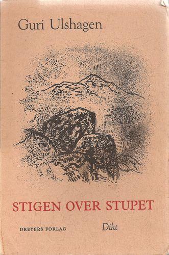Stigen over stupet. Dikt. Framside av Hans Gerhard Sørensen