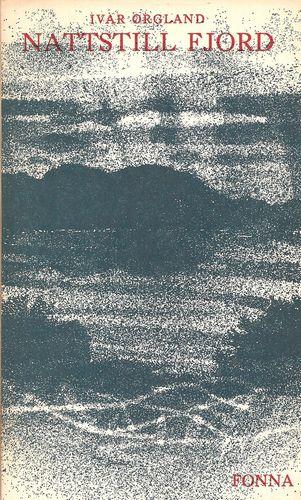Nattstill fjord. Dikt. Omslag  av Jardar Lunde