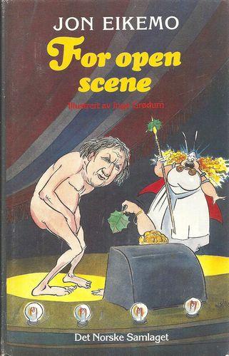 For open scene. Illustrert av Inge Grødum