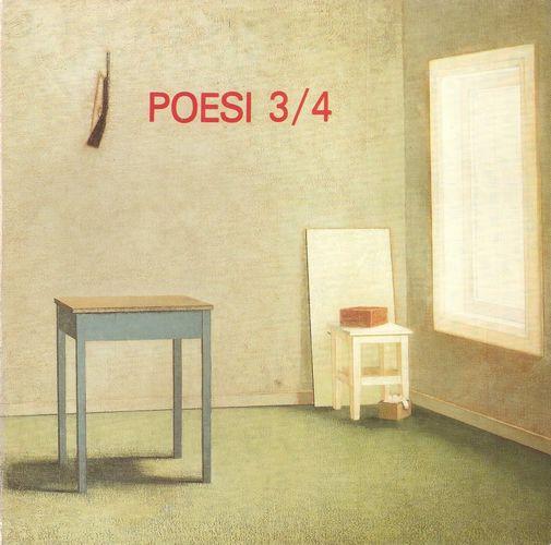 Poesi 3/4. Antologi for innen- og utenlandsk poesi og norsk bildekunst