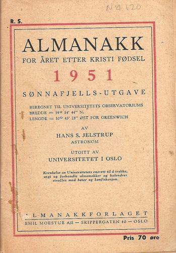 Sønnafjells-utgave. Av Hans S. Jelstrup