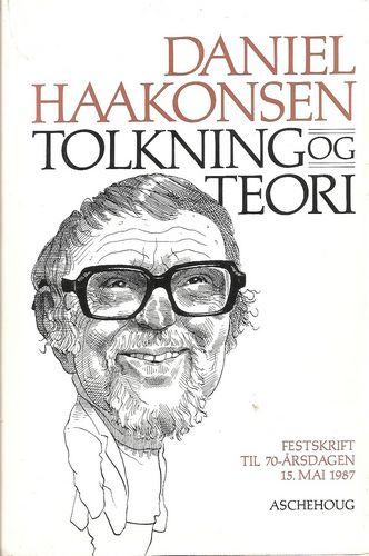 Tolkning og teori. Festskrift til 70-årsdagen 15. mai 1987