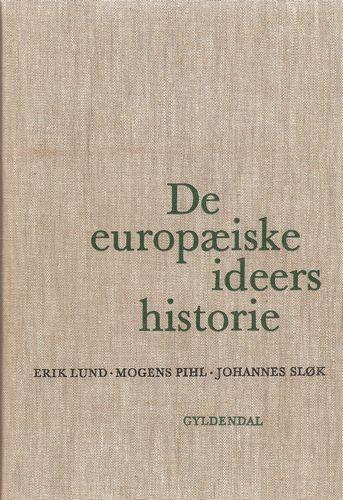 De europæiske ideers historie. Tredie opl
