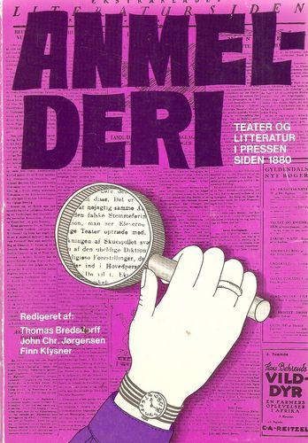 Anmelderi. Teater og litteratur i pressen siden 1880
