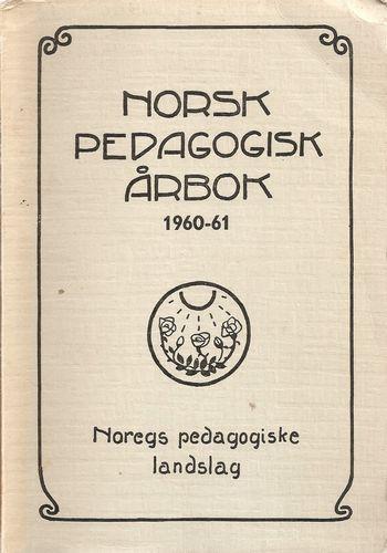 Norsk pedagogisk årbok 1960-61