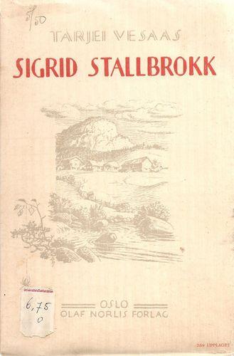 Sigrid Stallbrokk. 2dre Uppl