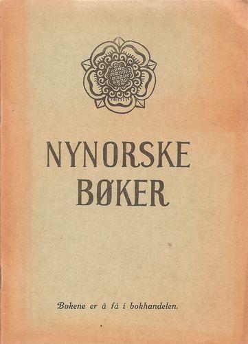 Nynorske bøker som er å få i bokhandelen. 2. oppl