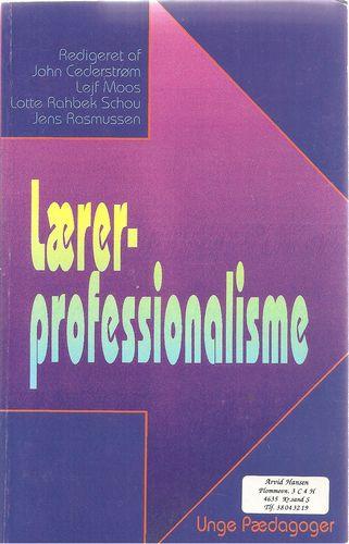 Lærerprofessionalisme. Lärarprofessionalism