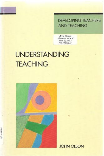 Understanding teaching. Beyond expertise