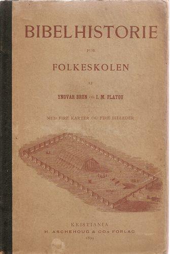 Bibelhistorie for Folkeskolen af… Med fire karter og fire billeder