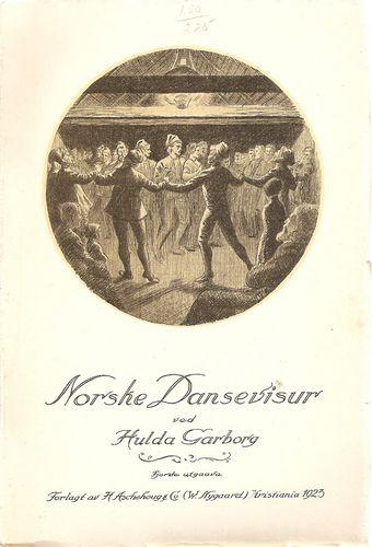 Norske Dansevisur. Fjorde auka utg