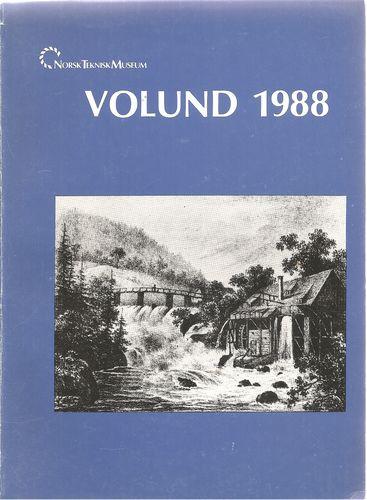 Norsk Teknisk Museum. Volund 1988. Årsberetning for 1997