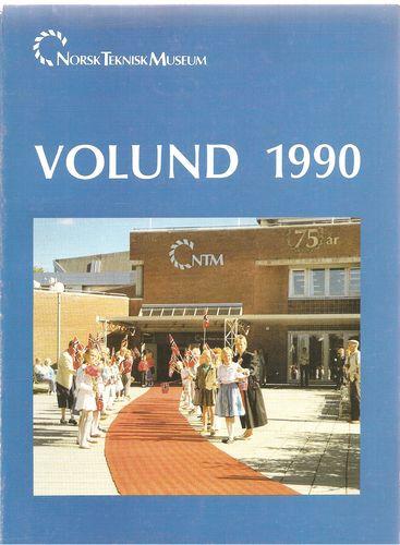 Norsk Teknisk Museum. Volund 1990. Årsberetning for 1989