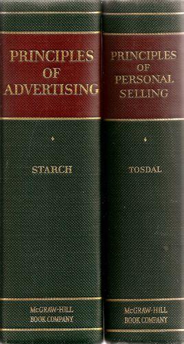 Principles of Advertising. Principles of Personal Selling. I-II. Repr