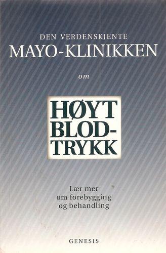 MAYO-klinikken om høyt blodtrykk. Lær meir om forebygging og behandling