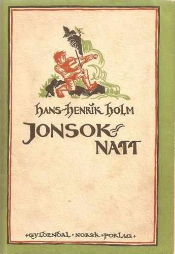 Jonsok-natt. Teikningar av Frøydis Haavardsholm