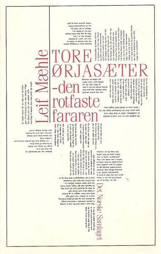 Tore Ørjasæter -den rotfaste fararen-