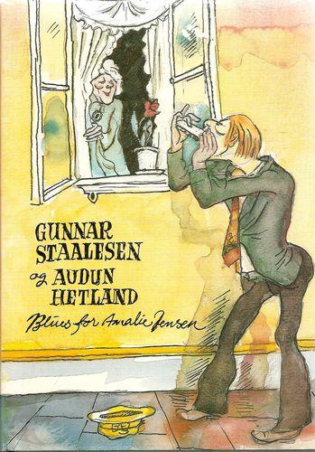 Blues for Amalie Jensen. Tekster fra Bergen. Ill. av Audun Hetland