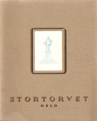 Stortorvets historie. Utarb. Av Arno Berg