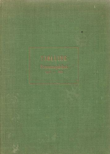 Tjølling kommunepolitiske historie i anledning Formannskapslovens 100 års jubileum. 14. januar 1837 -14. januar 1937