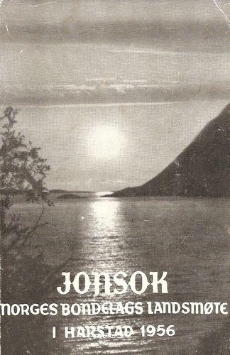 Jonsok 1956. Troms. Norges bondelags landsmøte i Harstad 1956