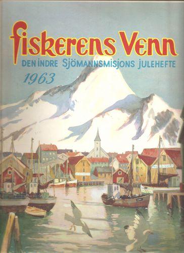 Omsl.: Fiskerhavn, av G. Gjerding