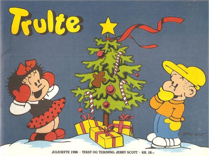 Julehefte 1988. Tekst og teikning: Jerry Scott