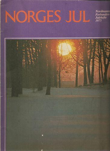 Nordmanns-Forbundets Julehefte 1975. Redaksjon ved Johan Hambro
