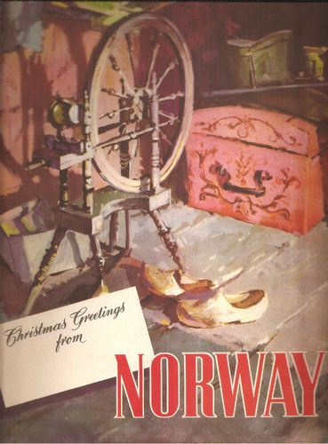 Christmas greetings from Norway