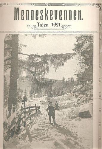 Julen 1921. Ansv. red.: Nils Høgevold