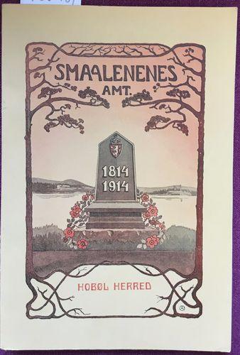 Hobøl herred 1814 - 1914. Bidrag til en bygdebeskrivelse av C. Schøning og M. Igsi