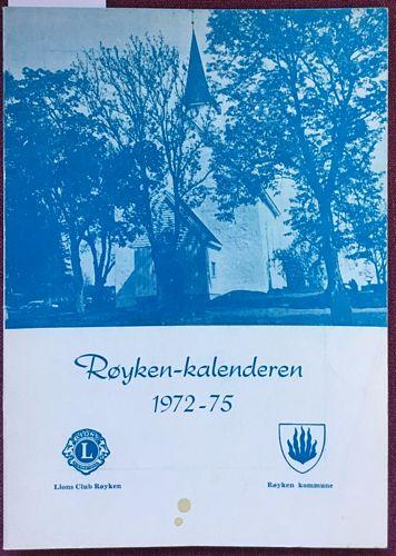 Røyken-kalenderen 1972-75
