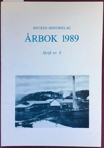 Røyken Historielag. Årbok 1989. Skrift nr. 8