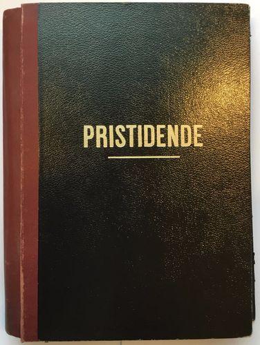 """Arsberetning. 1934-1949. (Stifta hefte innsett i samleperm m. """"Pristidende"""" trykt på framsida)"""