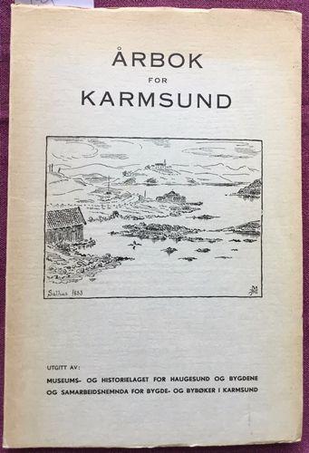 Haugesund museum. Årshefte 1951-1955