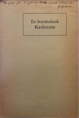 En bornholmsk Kæderemse