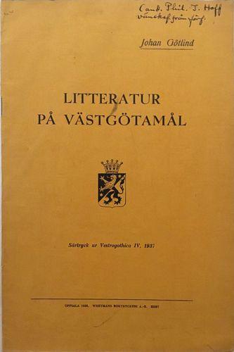 Litteratur på Västgötamål