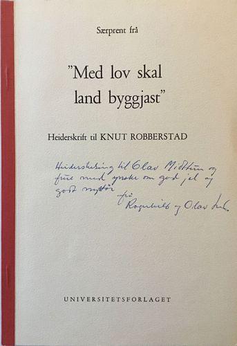 Knut Robberstad 70 år