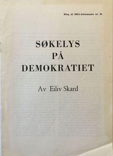 Søkelys på demokratiet