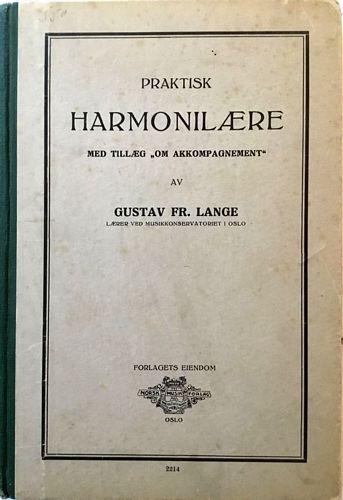 """Praktisk harmonilære. Med tillæg """"Om akkompagnement"""""""