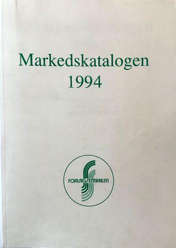 Markedskatalogen 1994. Skjønnlitteratur. Generell litteratur. Verk. Skole- og læremidler. AV-materiell. Andre forlagsartikler