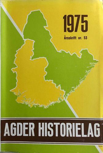 Årsskrift nr. 53. Red.:  Kristian A. Bentsen og Laurits Repstad