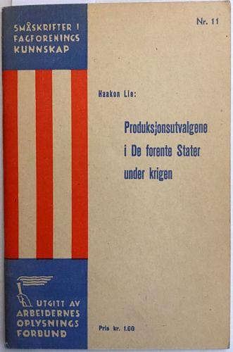 Produksjonsutvalgene i de Forenede Stater under krigen