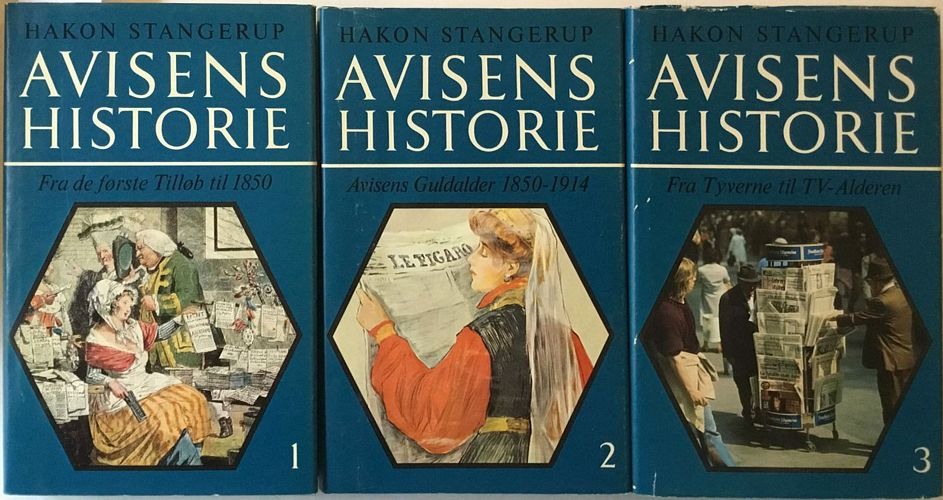 Avisens historie i de Lande , der skabte den: England, Frankrig, Tyskland og USA. I-III
