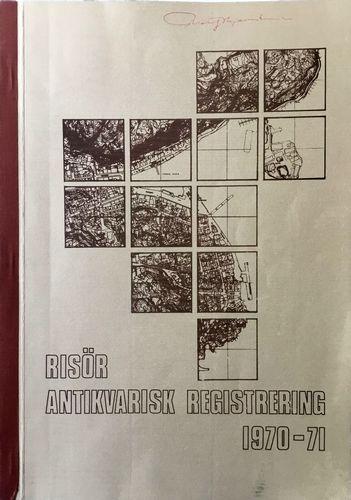 Risør antikvarisk registrering 1970-71