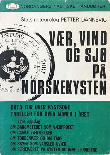 Vær, vind og sjø på norskekysten. Månedtabeller/årstabell