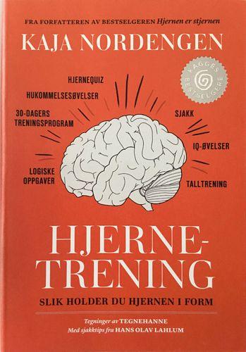 Hjernetrening. Slik holder du hjernen i form. Tegninger av Tegnehanne. Med sjakktips fra Hans Olav Lahlum