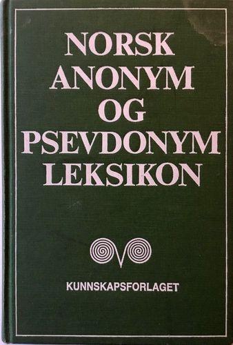 Norsk anonym- og psevdonymleksikon