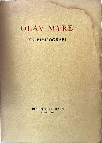 En bibliografi utgitt i anledning av hans 60-årsdag den 17.oktober 1943